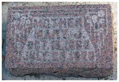 GIFFORD, MARY J. - Cedar County, Nebraska   MARY J. GIFFORD - Nebraska Gravestone Photos