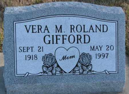 GIFFORD, VERA M. - Cedar County, Nebraska   VERA M. GIFFORD - Nebraska Gravestone Photos