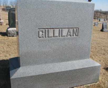 GILLILAN, FAMILY STONE - Cedar County, Nebraska   FAMILY STONE GILLILAN - Nebraska Gravestone Photos