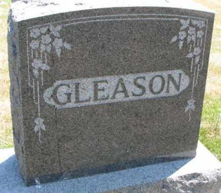 GLEASON, PLOT - Cedar County, Nebraska | PLOT GLEASON - Nebraska Gravestone Photos