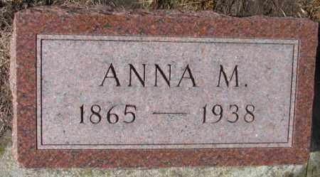 GOEBEL, ANNA M. - Cedar County, Nebraska | ANNA M. GOEBEL - Nebraska Gravestone Photos