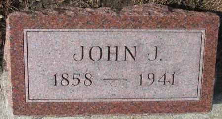 GOEBEL, JOHN J. - Cedar County, Nebraska | JOHN J. GOEBEL - Nebraska Gravestone Photos