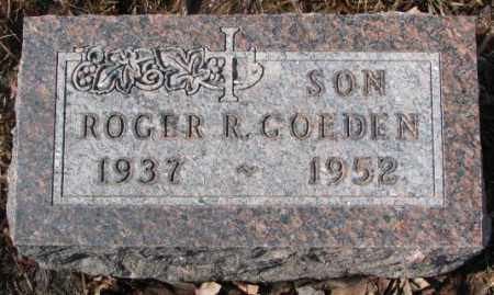 GOEDEN, ROGER R. - Cedar County, Nebraska | ROGER R. GOEDEN - Nebraska Gravestone Photos