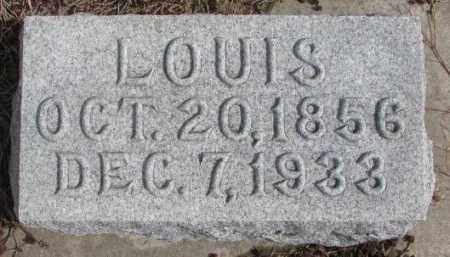GOETZ, LOUIS - Cedar County, Nebraska | LOUIS GOETZ - Nebraska Gravestone Photos