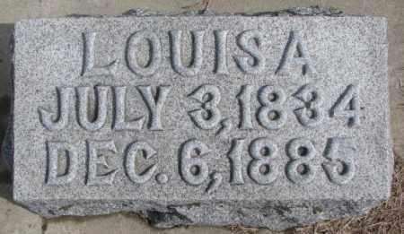 GOETZ, LOUISA - Cedar County, Nebraska | LOUISA GOETZ - Nebraska Gravestone Photos