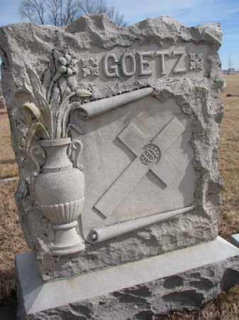 GOETZ, PLOT - Cedar County, Nebraska | PLOT GOETZ - Nebraska Gravestone Photos