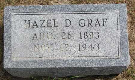 GRAF, HAZEL D. - Cedar County, Nebraska | HAZEL D. GRAF - Nebraska Gravestone Photos