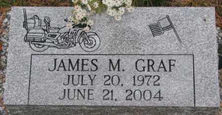 GRAF, JAMES M. - Cedar County, Nebraska | JAMES M. GRAF - Nebraska Gravestone Photos