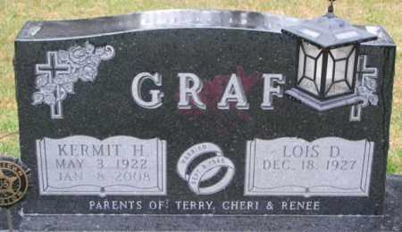 GRAF, LOIS D. - Cedar County, Nebraska | LOIS D. GRAF - Nebraska Gravestone Photos