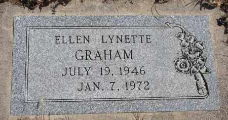 GRAHAM, ELLEN LYNETTE - Cedar County, Nebraska   ELLEN LYNETTE GRAHAM - Nebraska Gravestone Photos