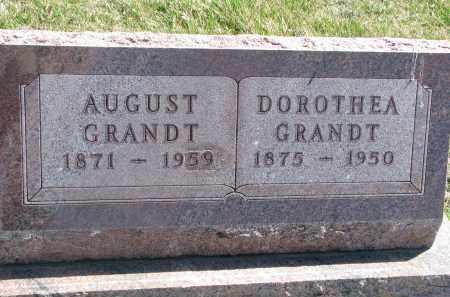 GRANDT, AUGUST - Cedar County, Nebraska | AUGUST GRANDT - Nebraska Gravestone Photos