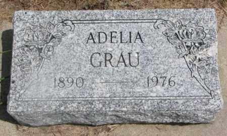 GRAU, ADELIA - Cedar County, Nebraska | ADELIA GRAU - Nebraska Gravestone Photos
