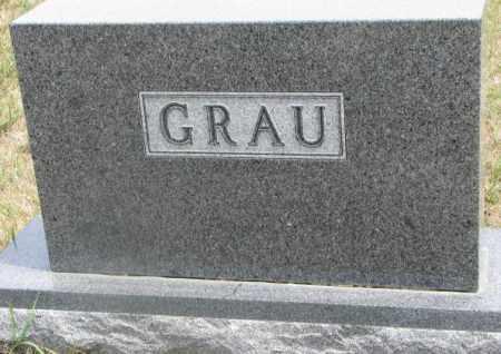 GRAU, PLOT - Cedar County, Nebraska | PLOT GRAU - Nebraska Gravestone Photos