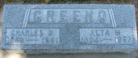 GREENO, CHARLES O. - Cedar County, Nebraska | CHARLES O. GREENO - Nebraska Gravestone Photos