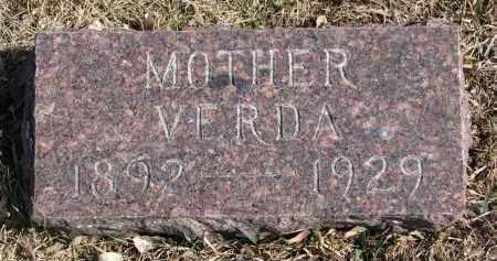GREGERSEN, VERDA - Cedar County, Nebraska | VERDA GREGERSEN - Nebraska Gravestone Photos