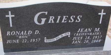 GRIESS, RONALD D. - Cedar County, Nebraska | RONALD D. GRIESS - Nebraska Gravestone Photos