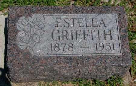 GRIFFITH, ESTELLA - Cedar County, Nebraska | ESTELLA GRIFFITH - Nebraska Gravestone Photos
