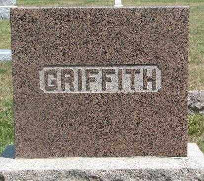 GRIFFITH, PLOT - Cedar County, Nebraska   PLOT GRIFFITH - Nebraska Gravestone Photos