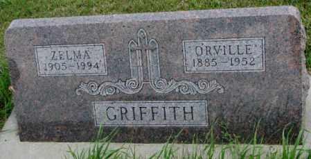 GRIFFITH, ORVILLE - Cedar County, Nebraska | ORVILLE GRIFFITH - Nebraska Gravestone Photos