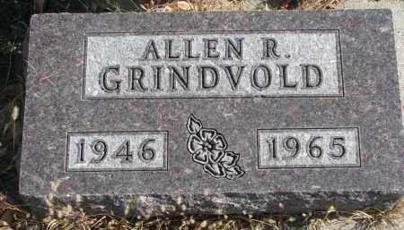 GRINDVOLD, ALLEN R. - Cedar County, Nebraska | ALLEN R. GRINDVOLD - Nebraska Gravestone Photos