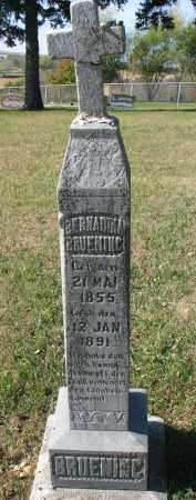 BRUENING, BERNADINA - Cedar County, Nebraska   BERNADINA BRUENING - Nebraska Gravestone Photos