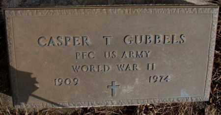 GUBBELS, CASPER T. (WW II) - Cedar County, Nebraska | CASPER T. (WW II) GUBBELS - Nebraska Gravestone Photos