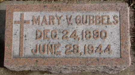 GUBBELS, MARY V. - Cedar County, Nebraska | MARY V. GUBBELS - Nebraska Gravestone Photos