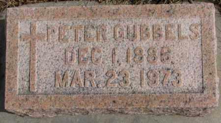 GUBBELS, PETER - Cedar County, Nebraska   PETER GUBBELS - Nebraska Gravestone Photos