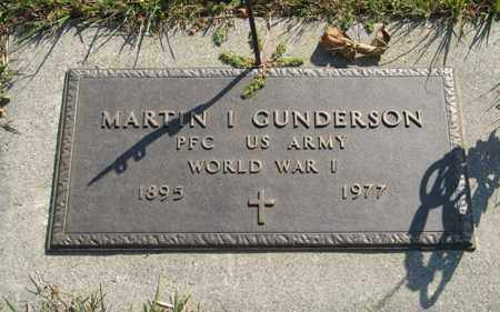 GUNDERSON, MARTIN I. - Cedar County, Nebraska | MARTIN I. GUNDERSON - Nebraska Gravestone Photos