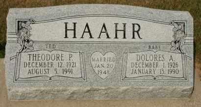"HAAHR, DOLORES A  ""BABE"" - Cedar County, Nebraska | DOLORES A  ""BABE"" HAAHR - Nebraska Gravestone Photos"