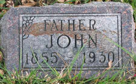 HAARHUES, JOHN - Cedar County, Nebraska | JOHN HAARHUES - Nebraska Gravestone Photos
