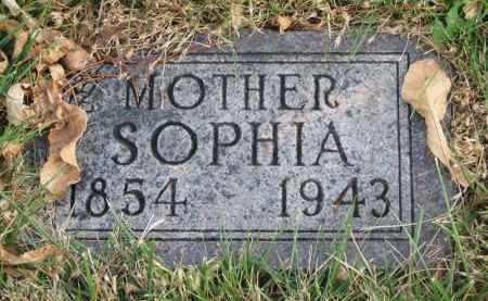 HAARHUES, SOPHIA - Cedar County, Nebraska | SOPHIA HAARHUES - Nebraska Gravestone Photos