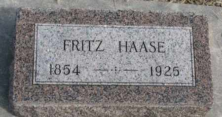 HAASE, FRITZ - Cedar County, Nebraska | FRITZ HAASE - Nebraska Gravestone Photos