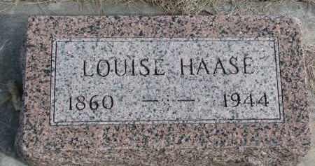 HAASE, LOUISE - Cedar County, Nebraska   LOUISE HAASE - Nebraska Gravestone Photos