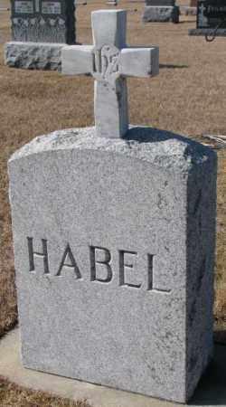 HABEL, PLOT - Cedar County, Nebraska | PLOT HABEL - Nebraska Gravestone Photos