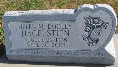 HAGELSTIEN, HELEN M. - Cedar County, Nebraska | HELEN M. HAGELSTIEN - Nebraska Gravestone Photos