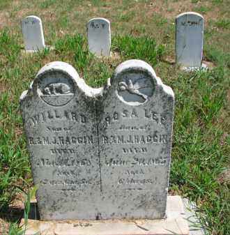 HAGGIN, WILLARD - Cedar County, Nebraska | WILLARD HAGGIN - Nebraska Gravestone Photos