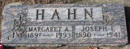 HAHN, MARGARET A. - Cedar County, Nebraska | MARGARET A. HAHN - Nebraska Gravestone Photos