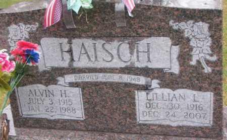HAISCH, ALVIN H. - Cedar County, Nebraska   ALVIN H. HAISCH - Nebraska Gravestone Photos