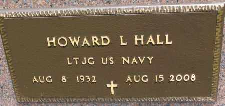 HALL, HOWARD L. (MILITARY) - Cedar County, Nebraska | HOWARD L. (MILITARY) HALL - Nebraska Gravestone Photos