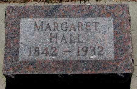 HALL, MARGARET - Cedar County, Nebraska | MARGARET HALL - Nebraska Gravestone Photos