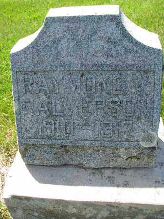 HALVERSON, RAYMOND - Cedar County, Nebraska | RAYMOND HALVERSON - Nebraska Gravestone Photos