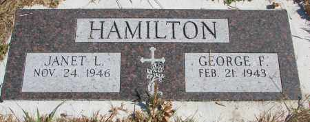 HAMILTON, GEORGE F. - Cedar County, Nebraska | GEORGE F. HAMILTON - Nebraska Gravestone Photos