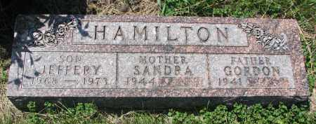 HAMILTON, GORDON - Cedar County, Nebraska | GORDON HAMILTON - Nebraska Gravestone Photos