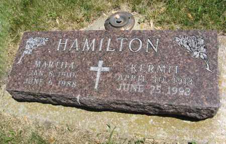 HAMILTON, MARTHA - Cedar County, Nebraska | MARTHA HAMILTON - Nebraska Gravestone Photos