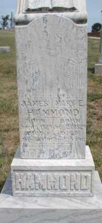 HAMMOND, JAMES - Cedar County, Nebraska | JAMES HAMMOND - Nebraska Gravestone Photos