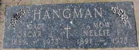 HANGMAN, NELLIE F. - Cedar County, Nebraska | NELLIE F. HANGMAN - Nebraska Gravestone Photos