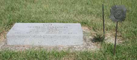 HANSEN, ALFRED - Cedar County, Nebraska | ALFRED HANSEN - Nebraska Gravestone Photos