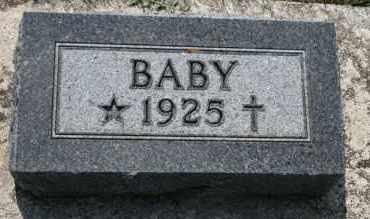 HANSEN, BABY - Cedar County, Nebraska | BABY HANSEN - Nebraska Gravestone Photos
