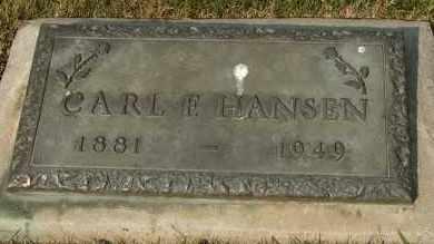 HANSEN, CARL F - Cedar County, Nebraska | CARL F HANSEN - Nebraska Gravestone Photos